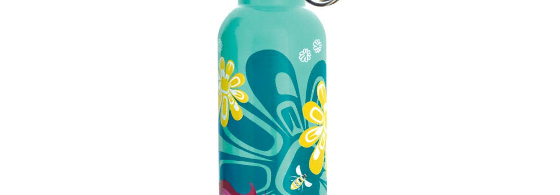 Water Bottle- Bee & Blossoms by Paul Windsor