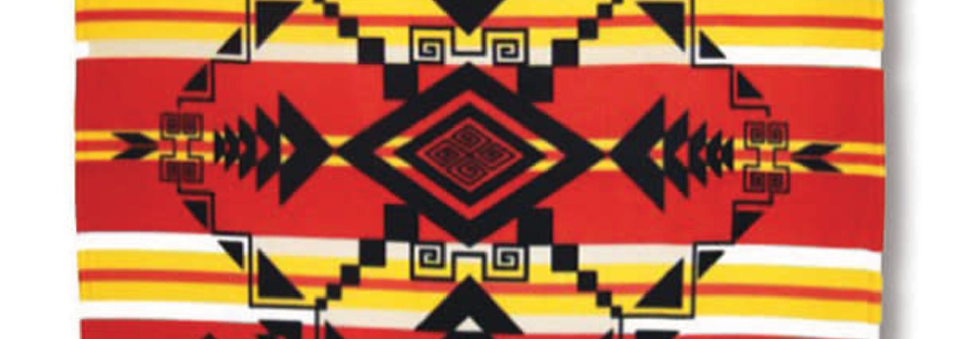 Premium Fleece Blankets-Gods Eye Red