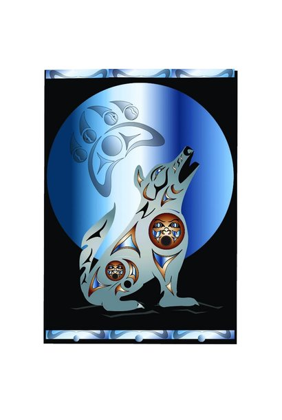 Premium Fleece Blankets - Pacific Wolf