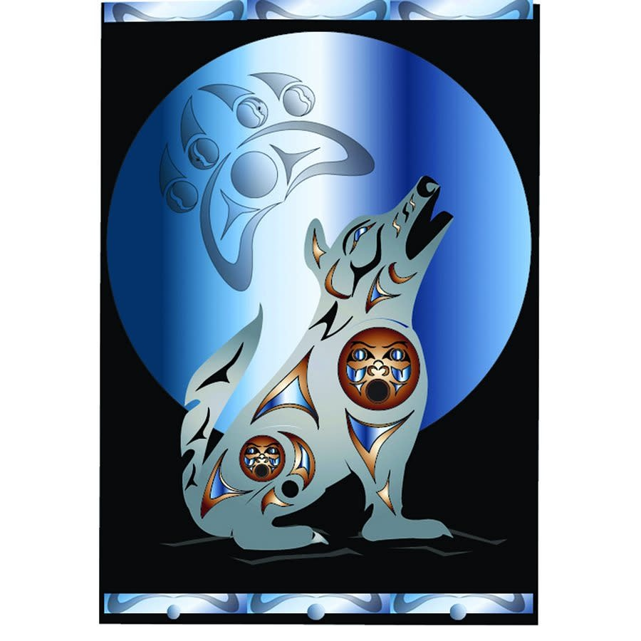 Premium Fleece Blankets - Pacific Wolf-1