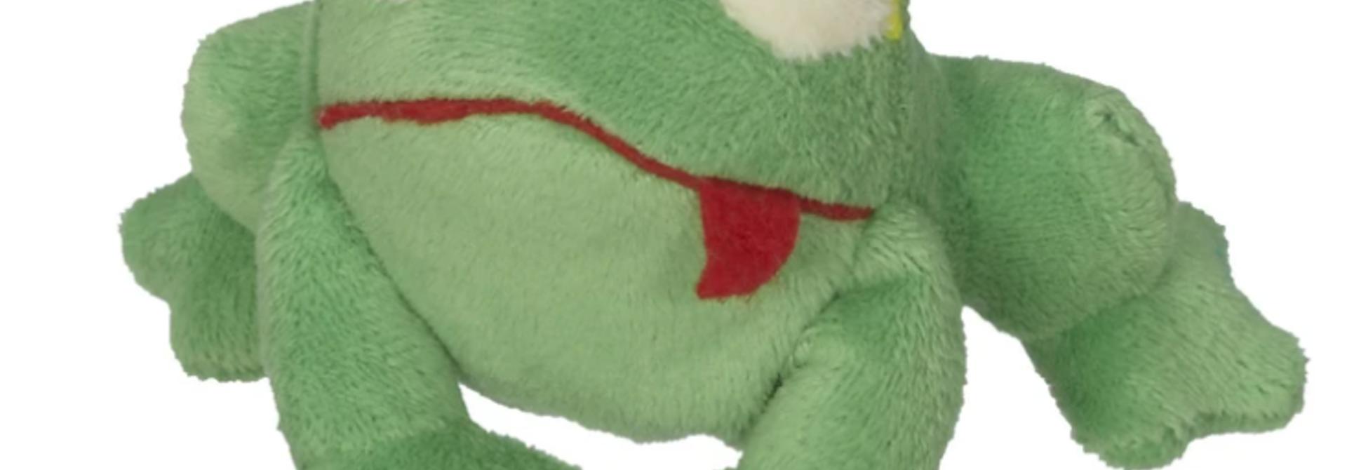 Hoppy the Frog finger puppet