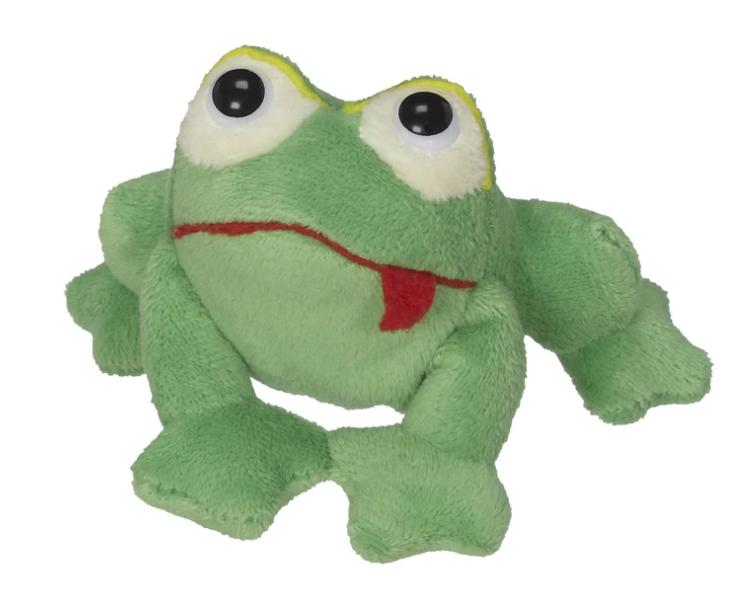 Hoppy the Frog finger puppet-1