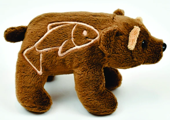 Oly- the brown bear finger puppet-1