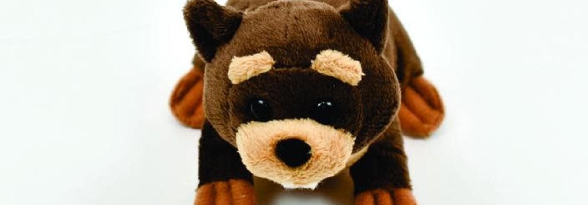 Bucky the Beaver finger puppet