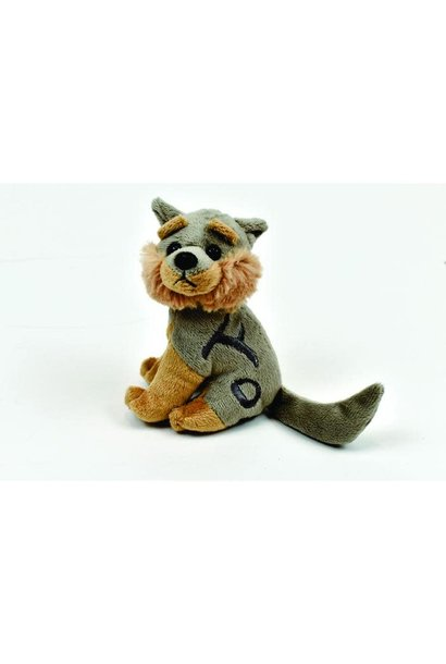 Laksoo the wolf- finger puppet