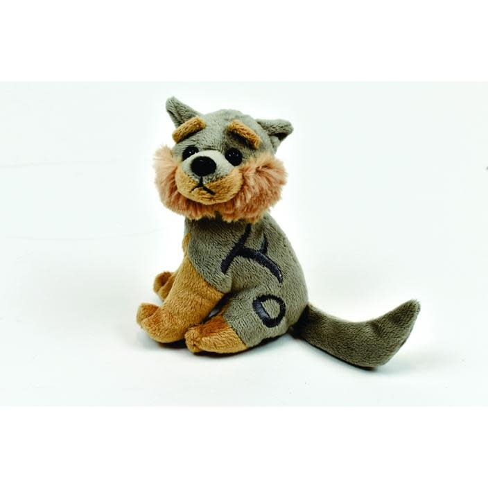 Laksoo the wolf- finger puppet-1