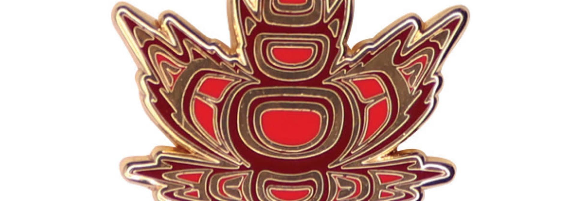 Enamel Pin- Indigenous Maple-Paul Windsor