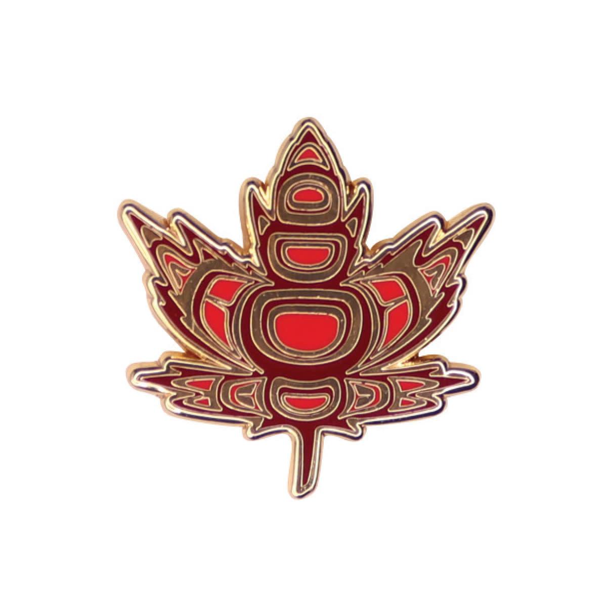 Enamel Pin- Indigenous Maple-Paul Windsor-1