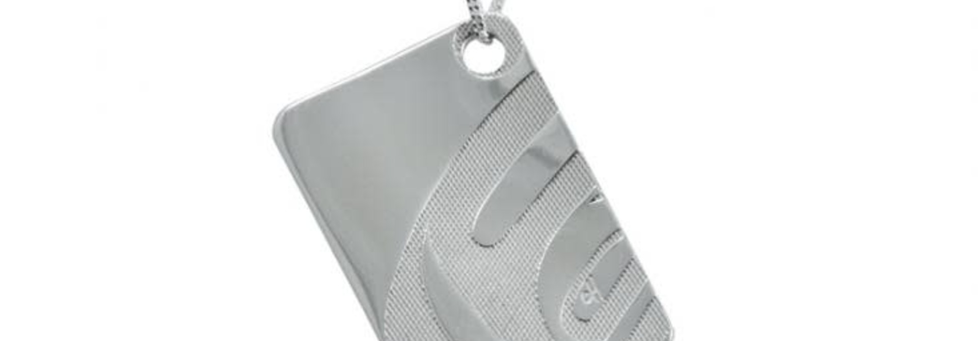 "Silver Pewter ""Nexus"" Pendant by Corrine Hunt"