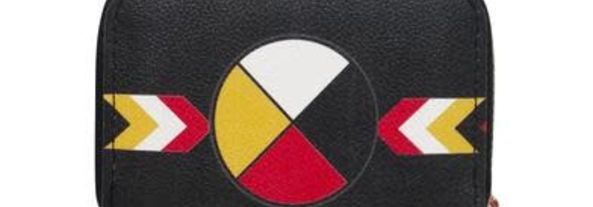 Card Wallet - Medicine Wheel design