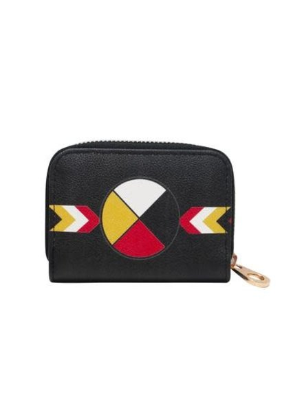 Card Wallet - Medicine Wheel design