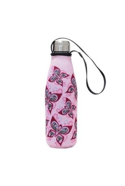 Water Bottle in Sleeve- Celebration of Life by Francis Dick