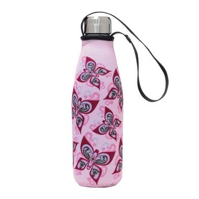 Water Bottle in Sleeve- Celebration of Life by Francis Dick-1