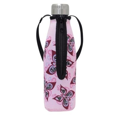 Water Bottle in Sleeve- Celebration of Life by Francis Dick-2