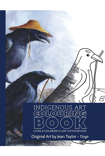 Indigenous Art Colouring Book - Art by Jean Taylor