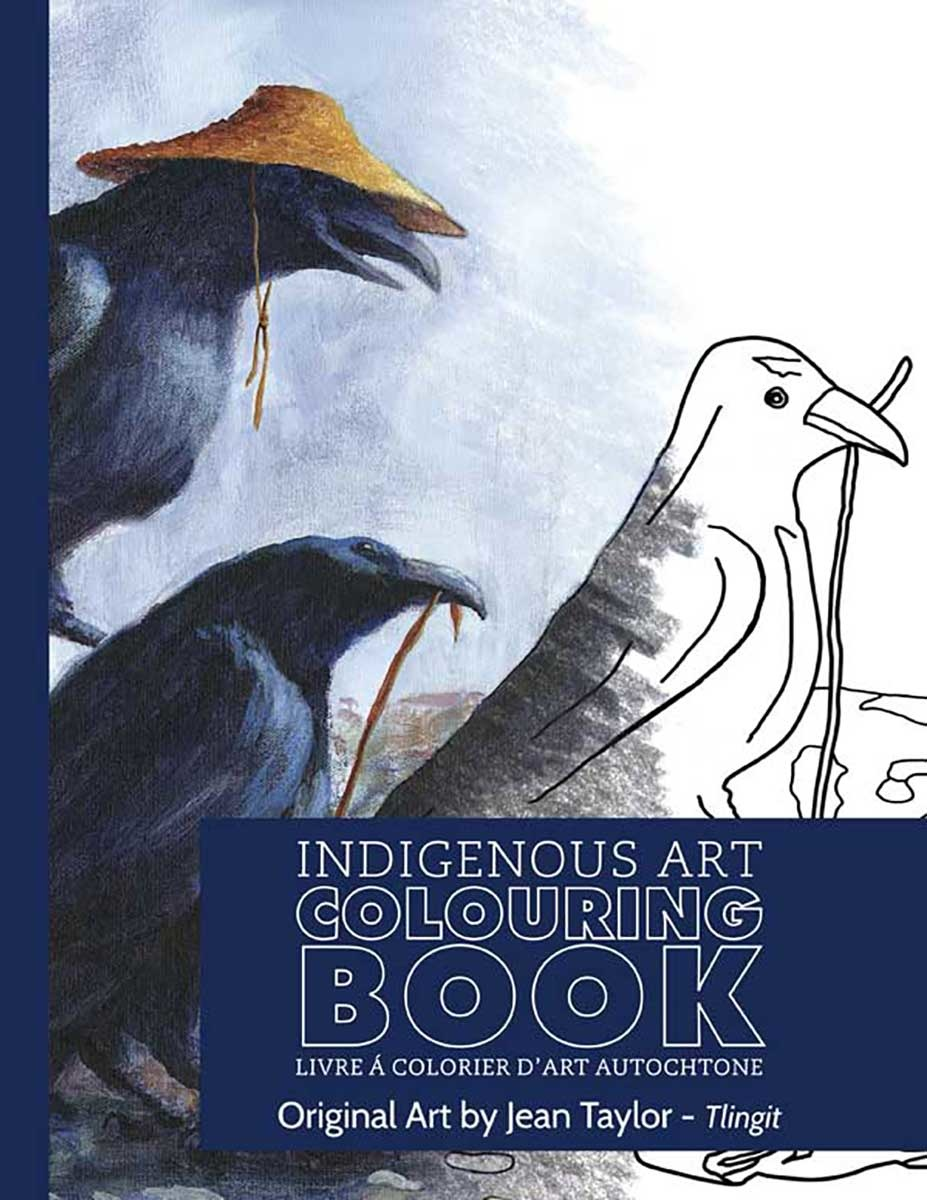 Indigenous Art Colouring Book - Art by Jean Taylor-1