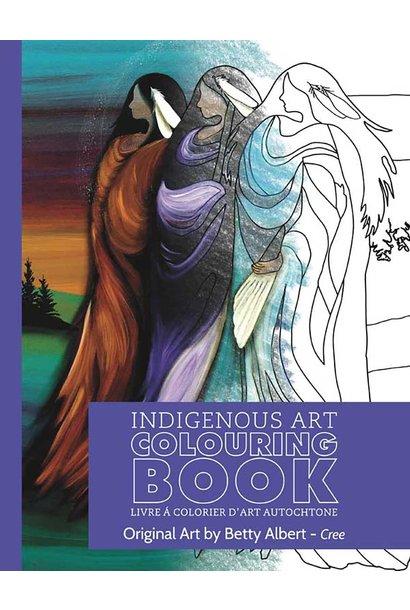 Indigenous Art Colouring Book - Art by Betty Albert