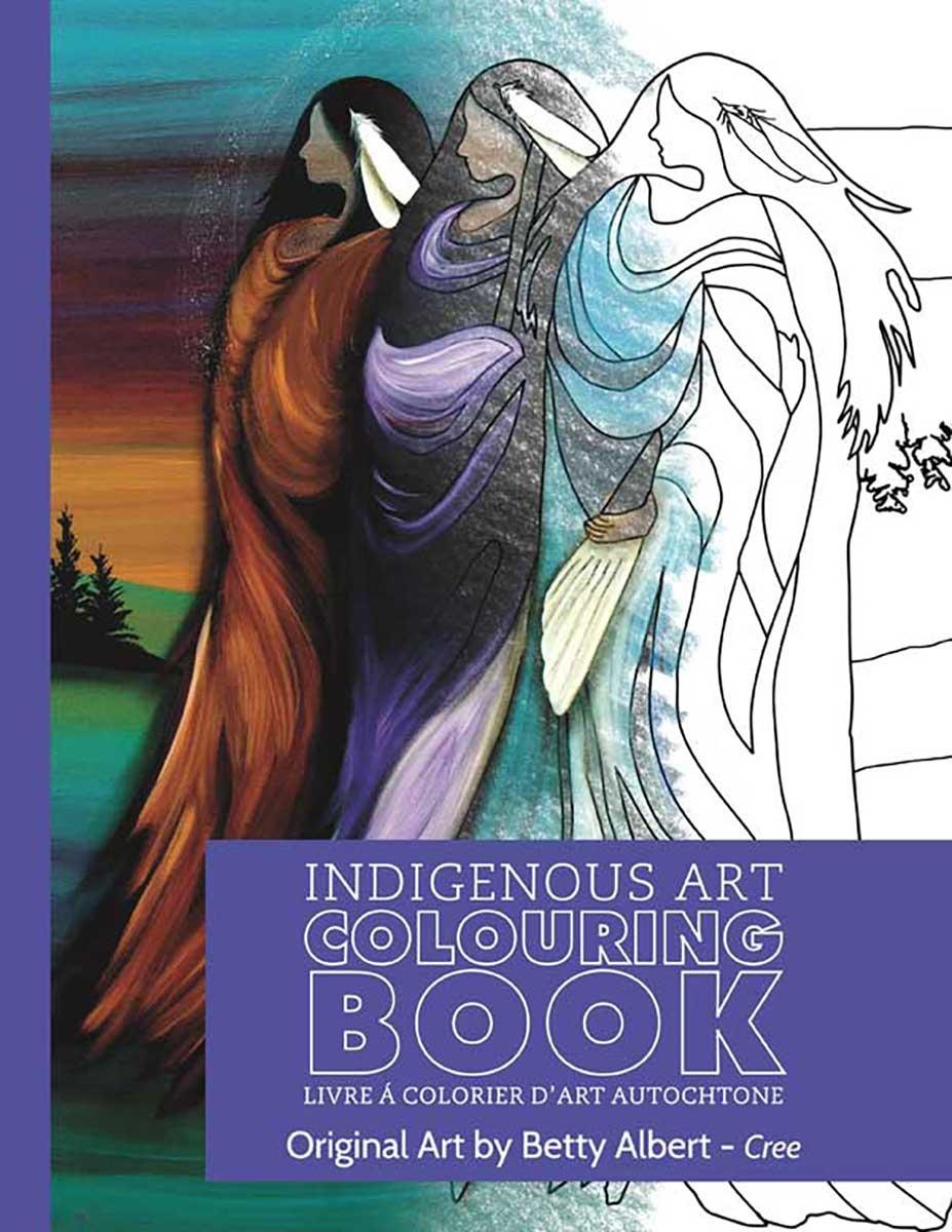 Indigenous Art Colouring Book - Art by Betty Albert-2