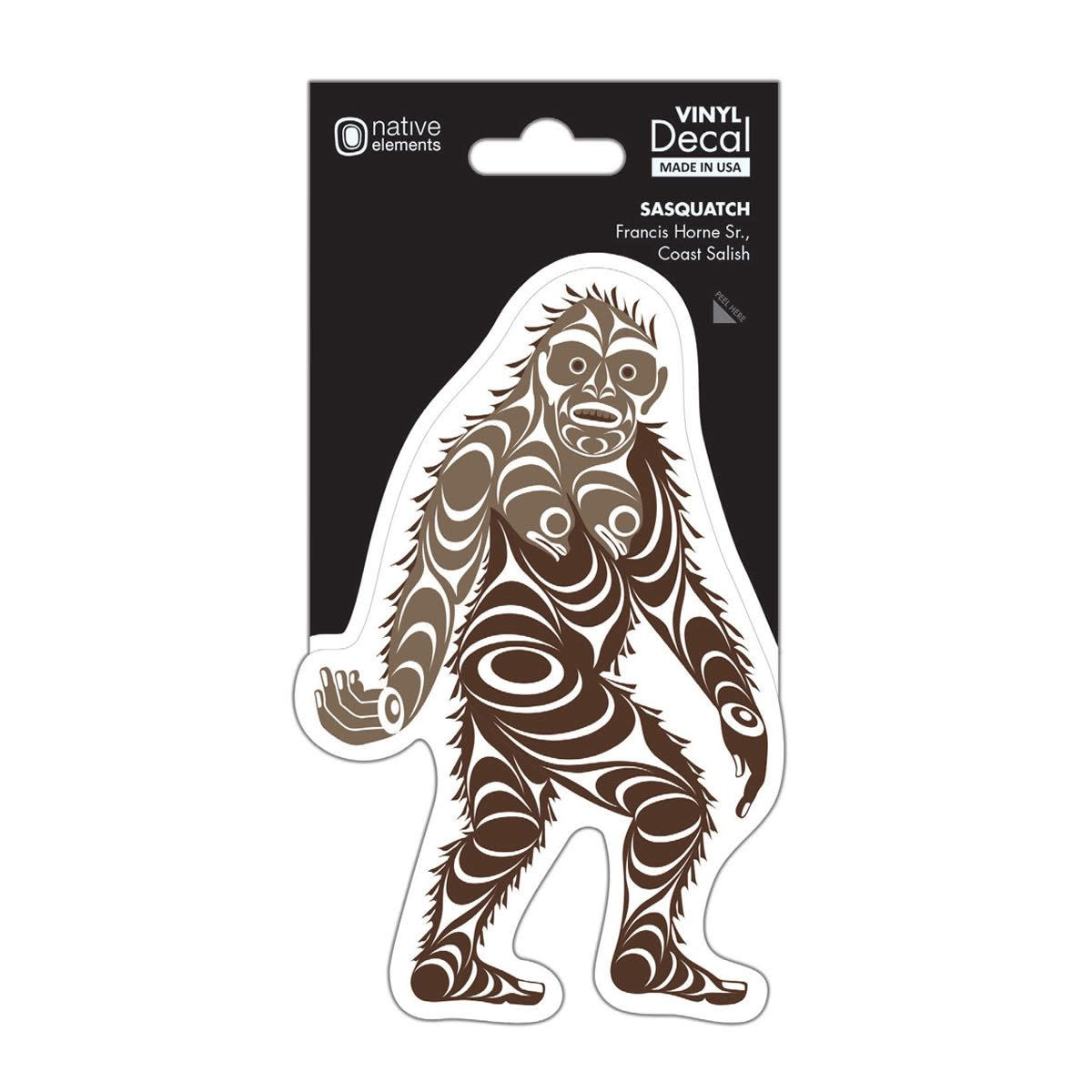 Premium Decal - Sasquatch by Francis Horne Sr.-1