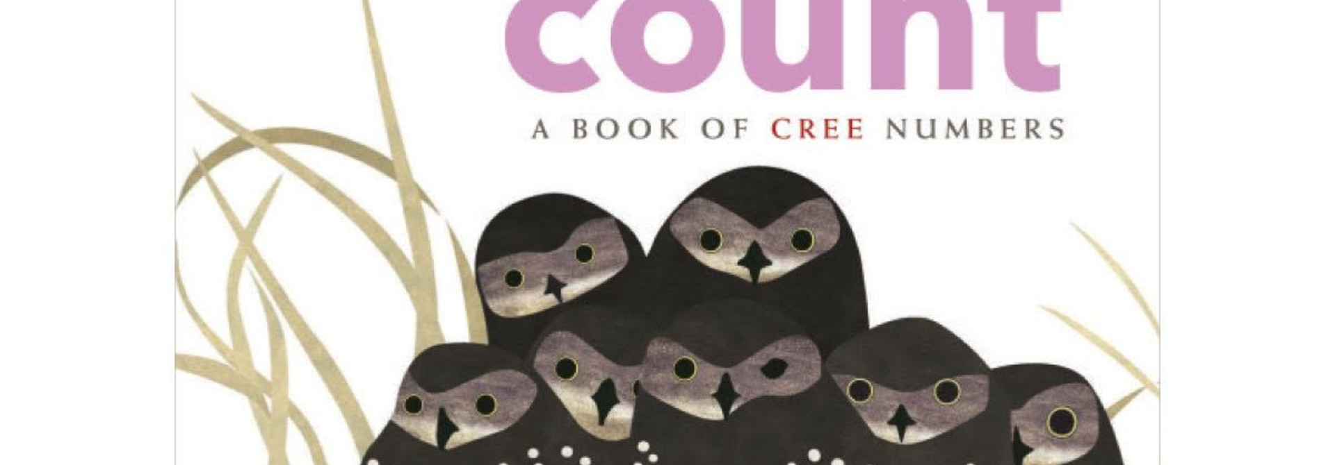 Board Book - We All Count: A Book of Cree Numbers by Julie Flett