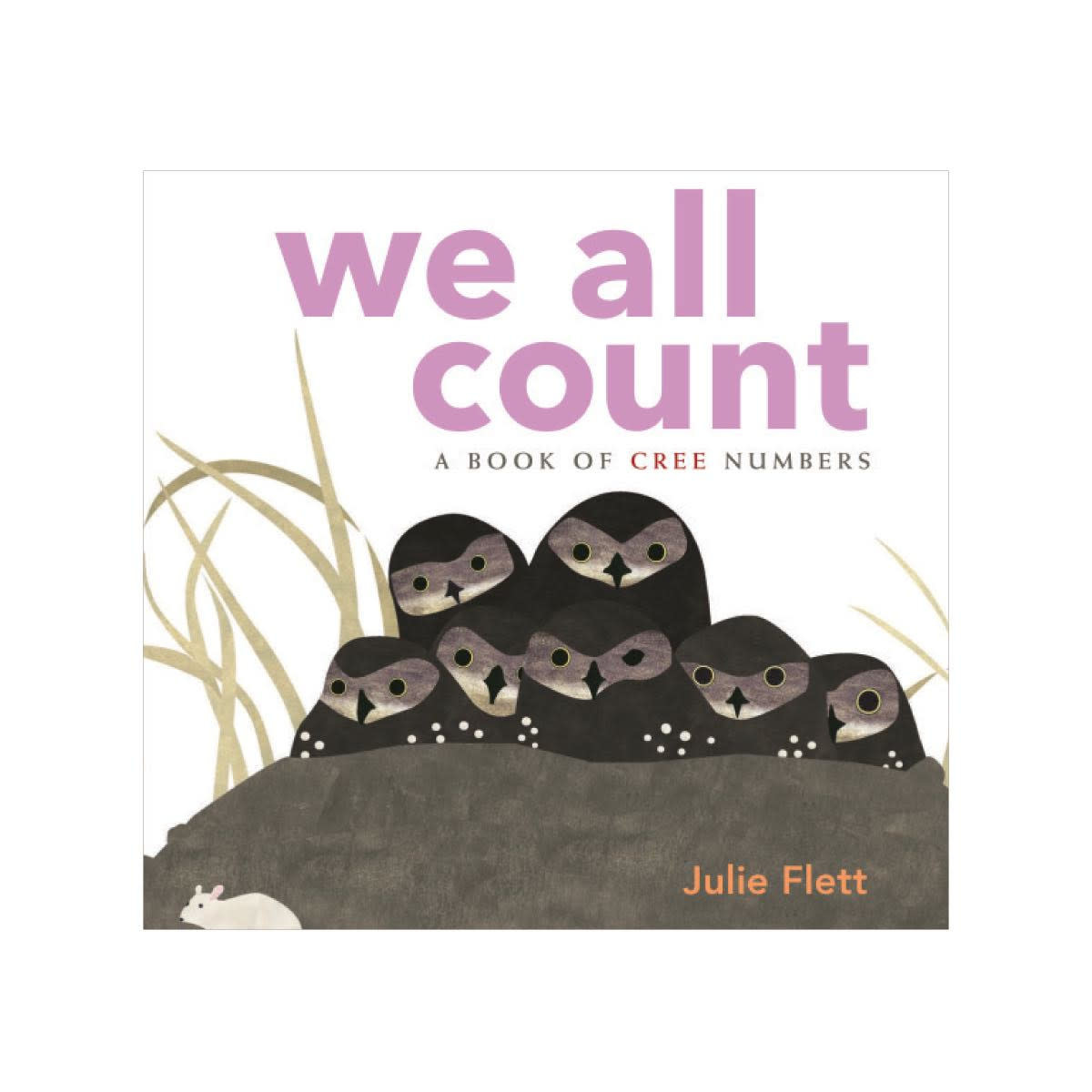 Board Book - We All Count: A Book of Cree Numbers by Julie Flett-1
