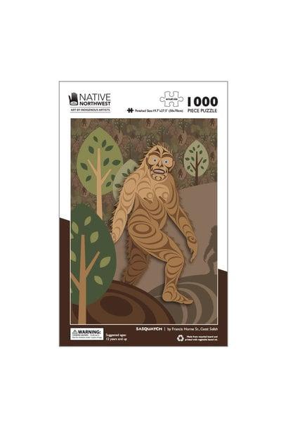 1000 pcs Puzzle - Sasquatch by Francis Horne Sr.