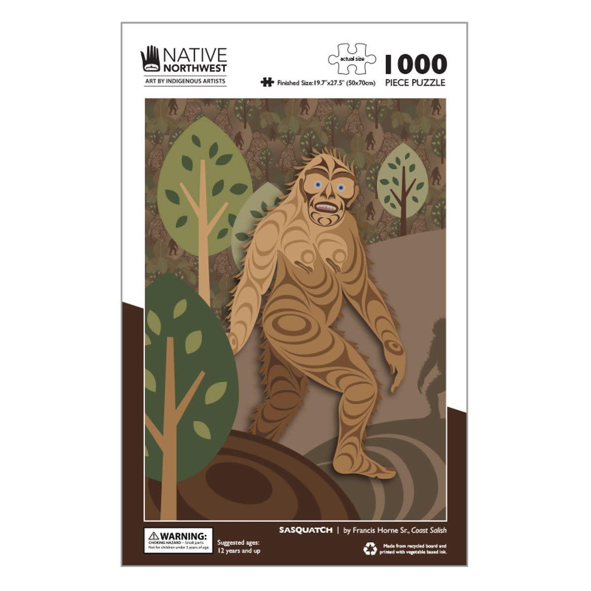 1000 pcs Puzzle - Sasquatch by Francis Horne Sr.-1