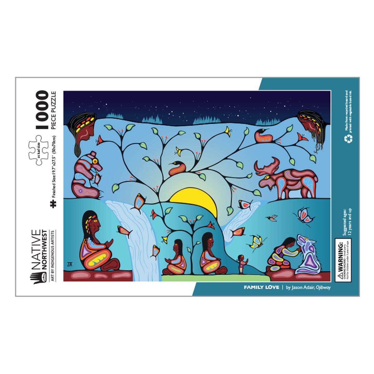 1000 pcs Puzzle - Family Love by Jason Adair-2