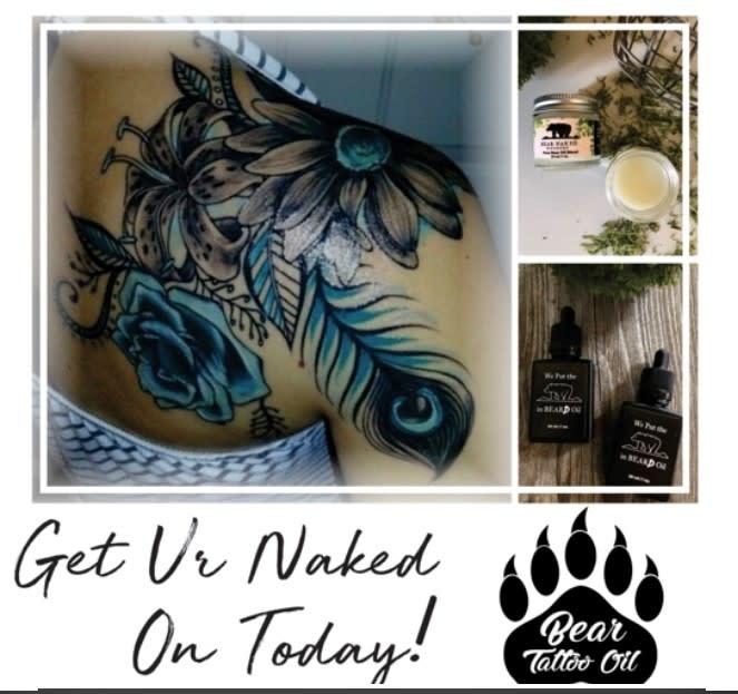 Bear Blend Pure oil - Tattoo Oil-1