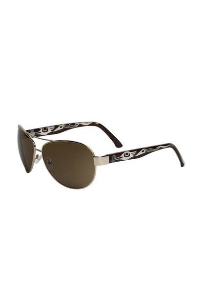 Cameron Sunglasses Heron Design (Gun Metal) Corrine Hunt