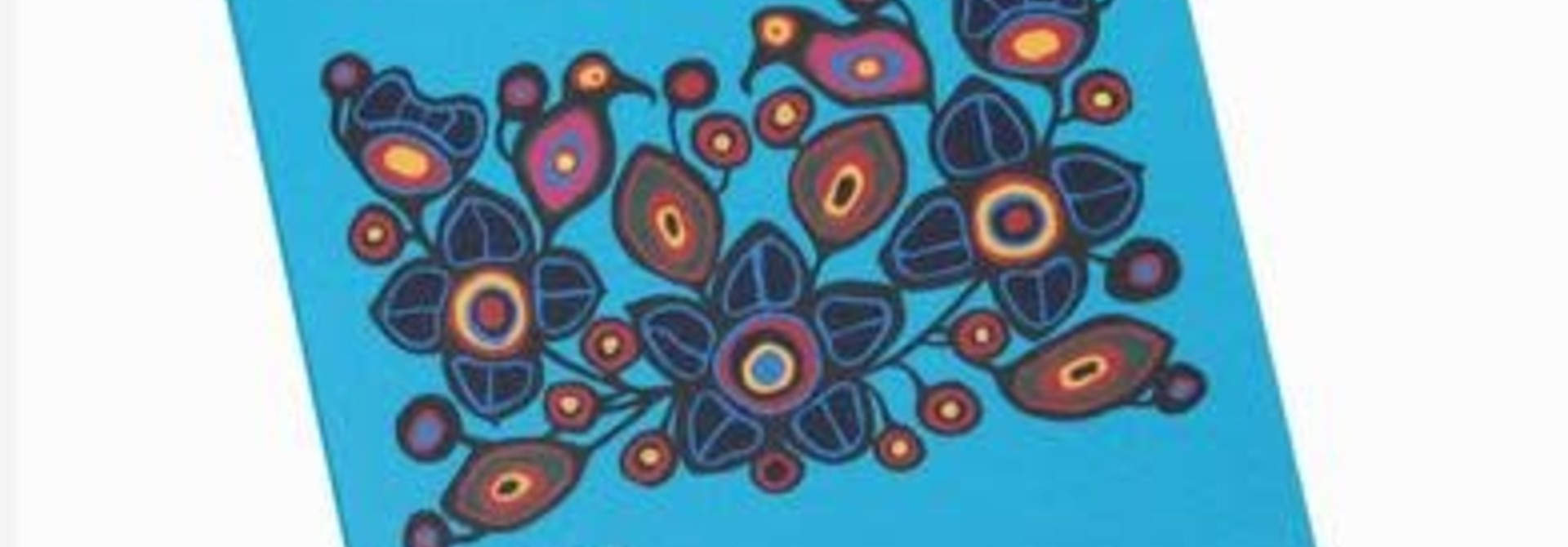Flowers and Birds Sticky Notes Set-Norval Morrisseau