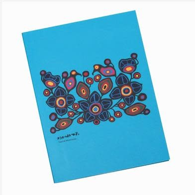 Flowers and Birds Sticky Notes Set-Norval Morrisseau-1