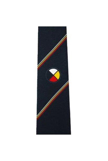 Medicine Wheel Silk Tie