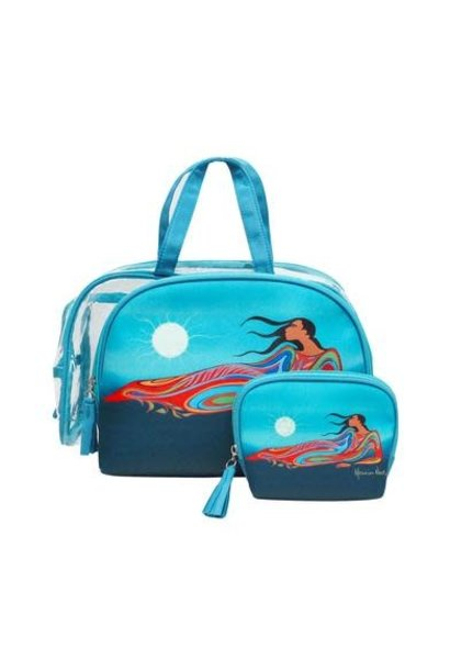 Mother Earth Cosmetic Bag Set- Maxine Noel