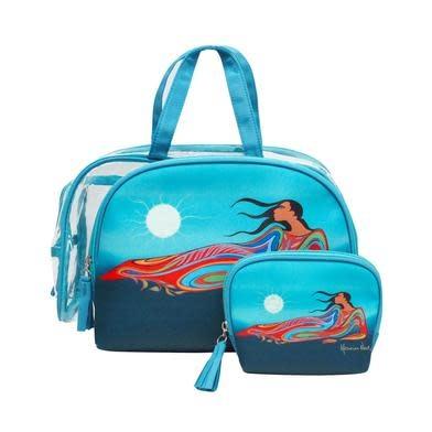 Mother Earth Cosmetic Bag Set- Maxine Noel-1