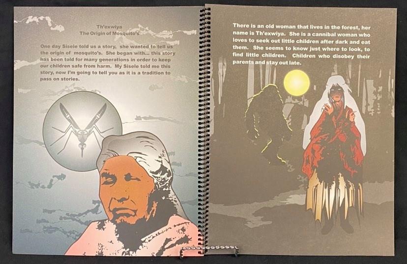 Book - Th'exwiya -The Origin of Mosquito's-2