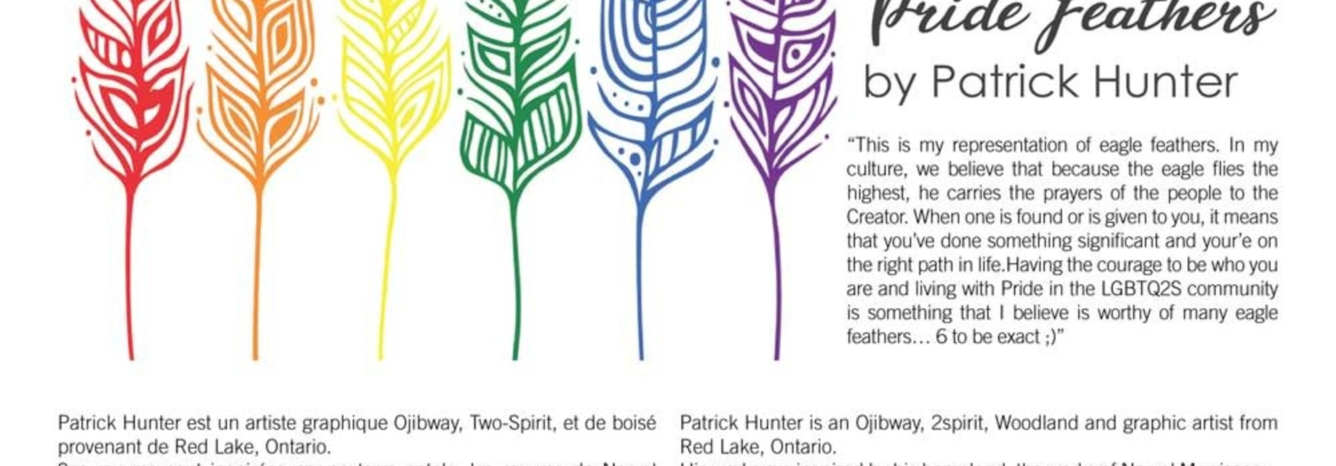 Pride Feathers - Boxed cards by Patrick Hunter