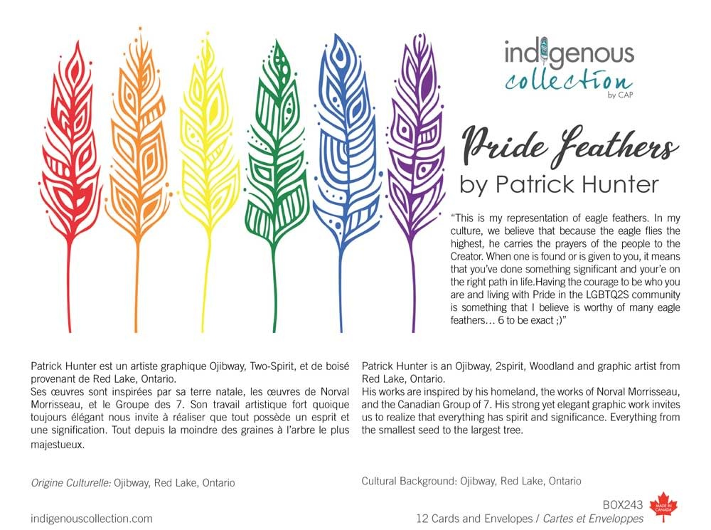 Pride Feathers - Boxed cards by Patrick Hunter-1