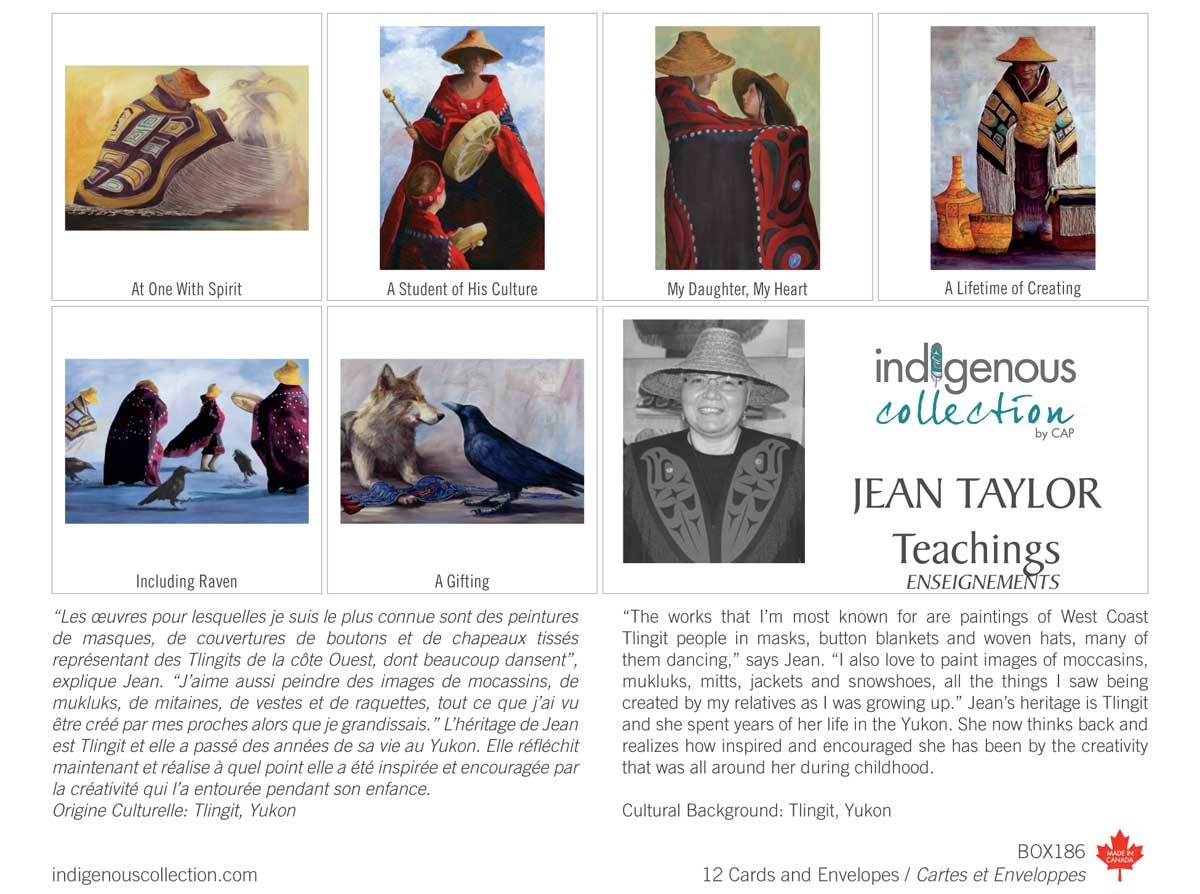 Teachings - Boxed Cards by Jean Taylor-1