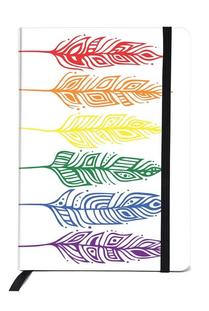 Pride Feathers -Art Journal by Patrick Hunter