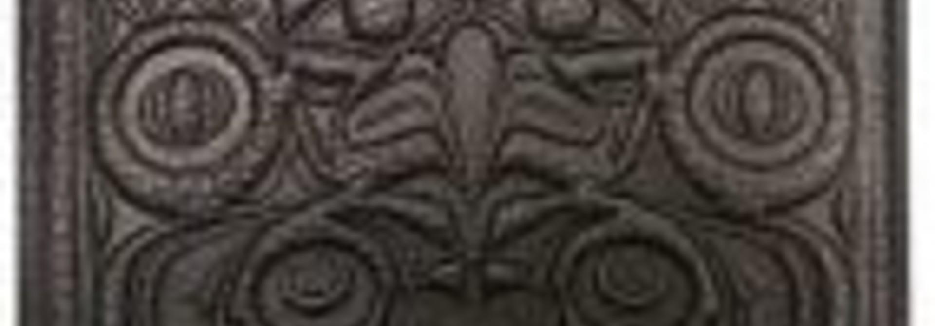 Leather Men's Wallet- Frog & Eagle by Douglas Horne