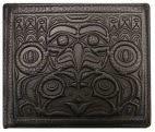Leather Men's Wallet- Frog & Eagle by Douglas Horne-1