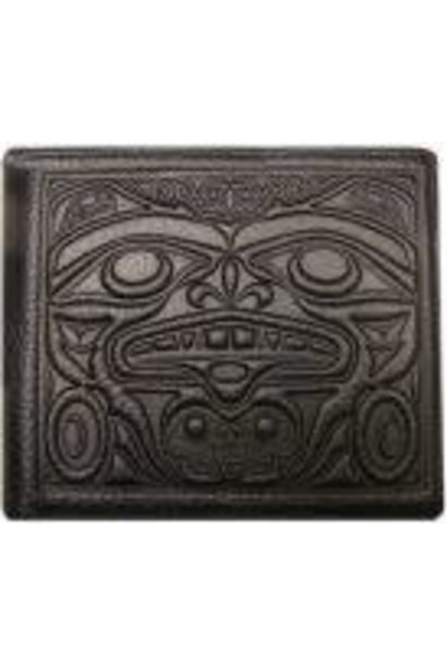 Leather Men's Wallet -Strength & Honor by Douglas Horne