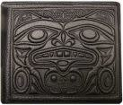 Leather Men's Wallet -Strength & Honor by Douglas Horne-1