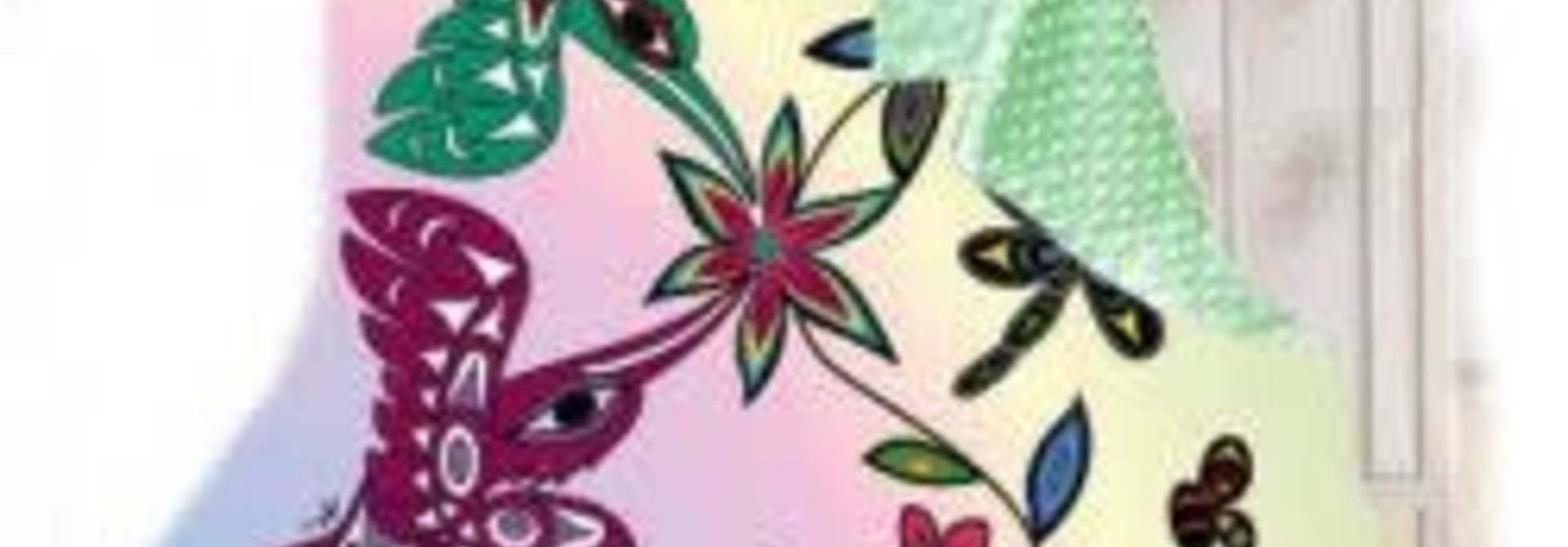 Baby Minky Blanket-Hummingbird by Douglas Horne