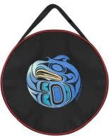 """15"""" Embroidered Drum Bag - Young Eagle by Francis Horne Sr.-1"""