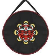 """15"""" Embroidered Drum Bag - Copper Sun by Joe Wilson-1"""