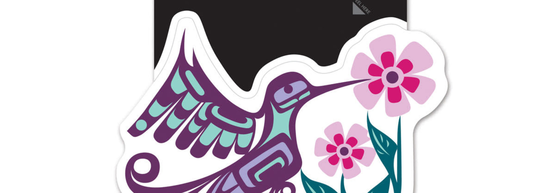 Premium Decal-Hummingbird by Francis Dick