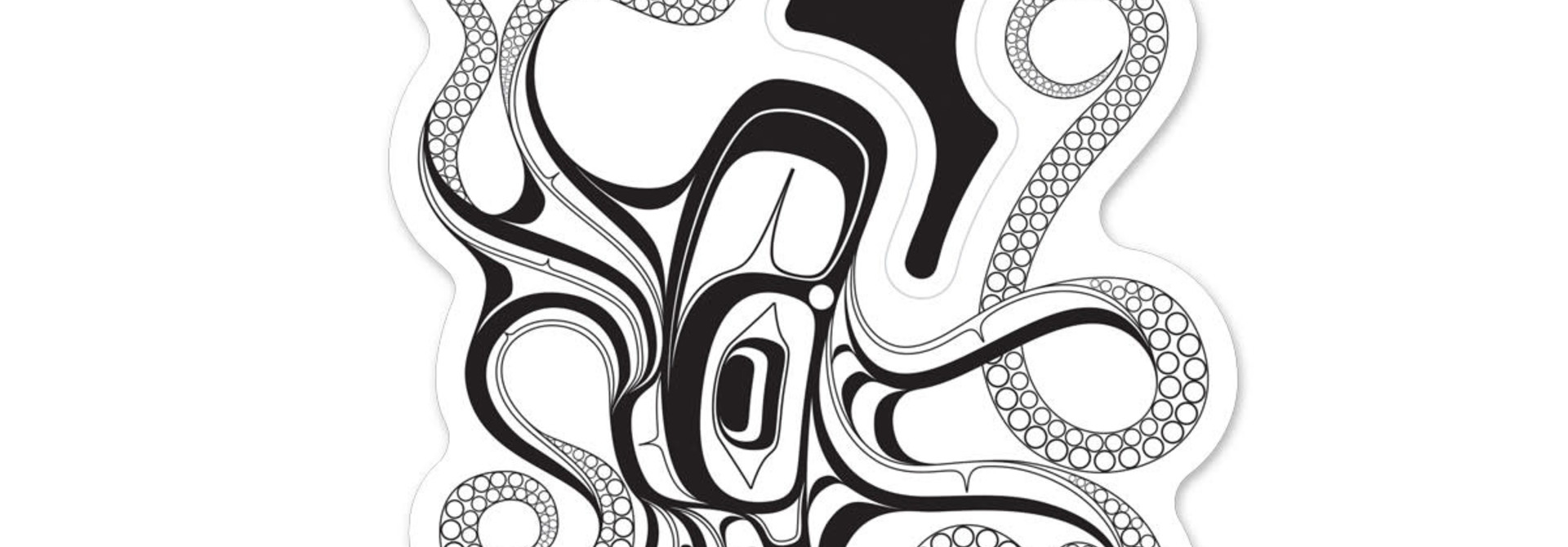 Premium Decal - Octopus (Nuu) by Ernest Swanson