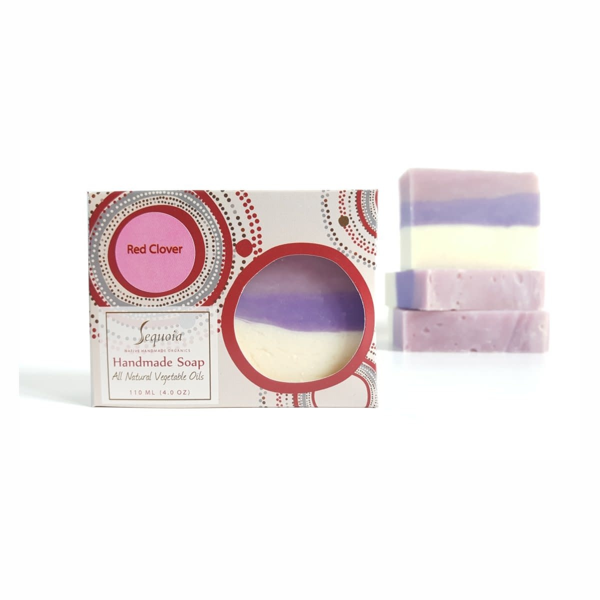 Sequoia Red clover 4oz soap-1
